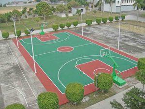 篮球场建设施工